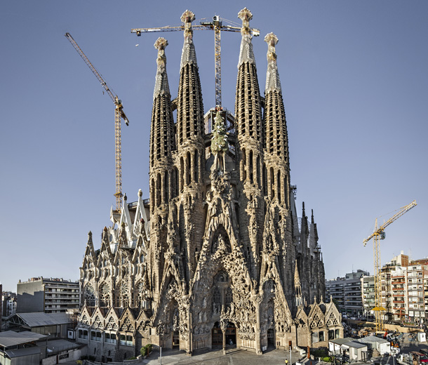 Sagrada familia for La sagrada familia en barcelona